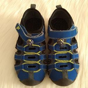 Fila Toddler Boys Hiking/Walking Sandals 12